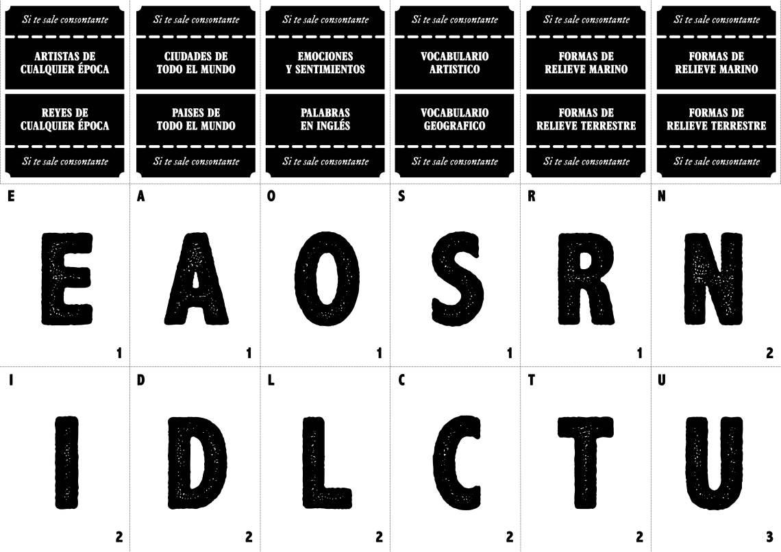 tarjetas letras juego tutoria5